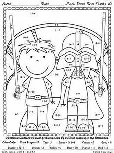 2nd grade math worksheet color by number 1000 images about math on maths puzzles color by 2nd
