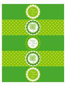 s day printable labels 20572 free printable st s day waterbottle labels modern beautiful st patricks printables
