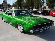 classic car with custom paint job muscle cars car paint jobs custom cars