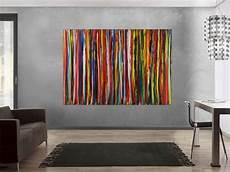 moderne bilder auf leinwand hochwertige kunst auf leinwand abstraktes acrylbild bunte