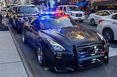this nissan gt r looks like the evil cop car from