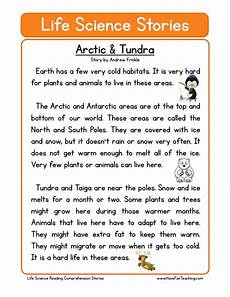 arctic tundra science reading reading comprehension