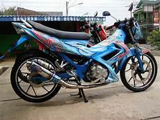 Modifikasi Motor Satria F by Foto Modifikasi Motor Airbrush Satria Fu Terkeren Dan
