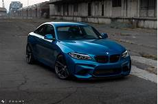 Photoshoot Blue Bmw M2 By Mode Carbon