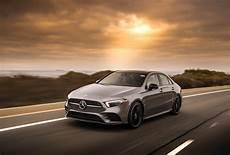 mercedes showcases 2019 a class sedan for u s market