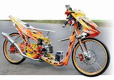 modifikasi mio drag race modif mio sporty balap simple acre