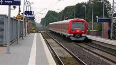 S Bahn Hamburg Z 252 Ge Der Br474 In Neu Wulmstorf 1080p
