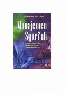 pdf manajemen syariah implementasi tqm dalam lembaga