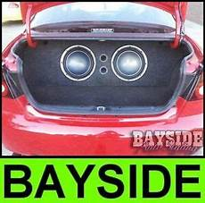 vt vx vy vz holden commodore 12inch sub custom boot install 12 quot subwoofer box ebay