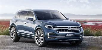2018 Volkswagen Touareg Caught Undisguised  Photos 1 Of 3