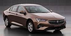 2020 buick regal 2020 buick regal facelift for china makes