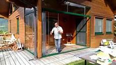 schiebeelemente für terrassen wintergarten schiebet 252 r aus glas