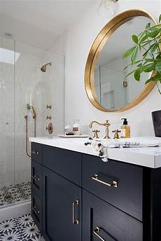 Bathroom Ideas Navy And White by Image Result For Interior Navy Blue White Brass