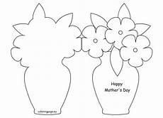 mothers day card printable template 20614 happy s day card template kart yapımı boyama sayfaları babalar g 252 n 252
