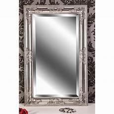 spiegel silber antik wandspiegel silber antik barock kim 80 x 50 cm spiegel