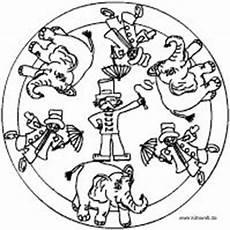 Ausmalbilder Zirkus Kidsweb Zirkus Mandala Zirkus Thema Zirkus Und Zirkusdirektor