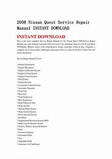 free online auto service manuals 2011 nissan quest security system 2008 nissan quest service repair manual instant download 08 by ksmjefnnn issuu