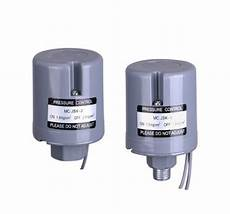 adjustable mechanical water pressure switch