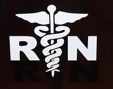 rn vinyl decal car truck auto window stickers set of