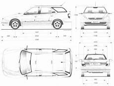 2000 citroen xsara wagon blueprints free outlines
