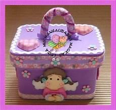 cajas decoradas en fomi mis manualidades magicas caja caja decorada magnolia mis manualidades magicas manualidades foami patrones box