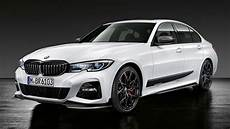 2019 bmw 3 series sporty m performance parts on display in