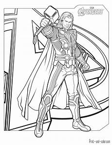 avengers coloring pages print and color com