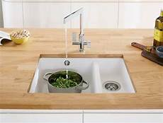 Wta Solid Wood Worktop With Undermount Sink