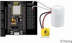 wiring motion sensors