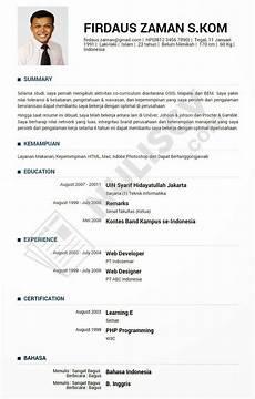 contoh resume lamaran kerja untuk fresh graduate quotes wanita