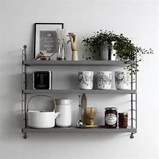 string pocket regal string pocket shelf grey string pocket shelves and