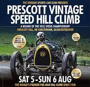 VSCC Prescott Speed Hillclimb 5th/6th August  The Morgan