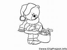 Ausmalbilder Weihnachten Teddy Malvorlage Fuer Kleinkinder Teddybaer
