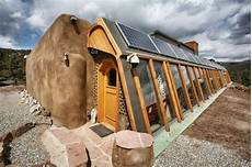 modern work of mexican at this earthship community in new mexico renters can