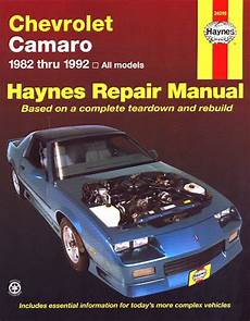 small engine maintenance and repair 1997 chevrolet camaro electronic toll collection camaro 1982 1992 haynes repair manual coupe berlinetta