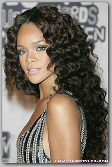 Wavy Hairstyles Black