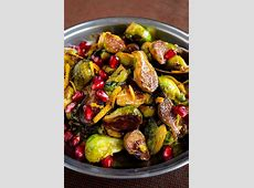 brussels sprouts with pomegranate molasses and meyer lemon_image