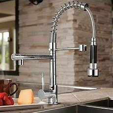where to buy kitchen faucets byb 174 chrome modern designer single handle pull out spray pre rinse kitchen sink tap
