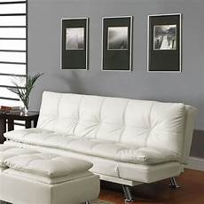 futon design shop coaster furniture white futon at lowes