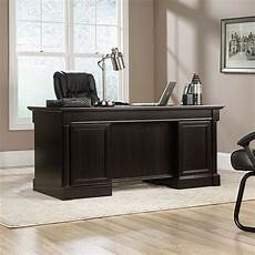 sauder home office furniture sauder palladia executive desk 416513 the furniture co