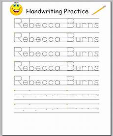 handwriting worksheets with names 21627 productiontools sophiaedit2000