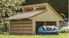 Elektro Rolltor Garage by M 228 Hroboter Garage Robogard Home Aus Holz F 252 R Alle