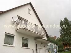 französischer balkon modern franz 246 sischer balkon verzinkt anthrazit modern