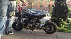 honda monkey 125cc tuning germany sound loud