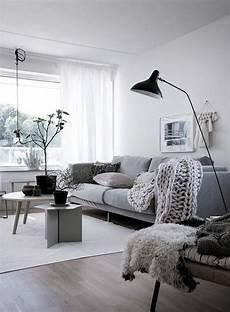 scandi home decor nordic living room chunky knit throw living room