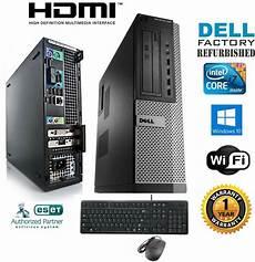 dell pc desktop intel i7 2600 3 40g 16gb new 1tb ssd