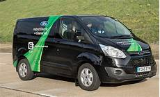 ford transit custom phev being tested by fleets in