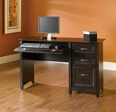 sauder computer desk office home student furniture desks antiqued black ebay