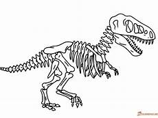dinosaurs fossils coloring pages 16729 dinosaur bones coloring page at getcolorings free printable colorings pages to print and color