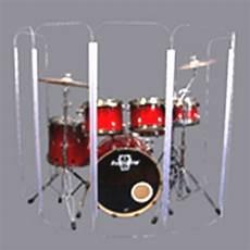 Drum Shield Ds5 L 6 Section Drum Shield Acrylic Drum